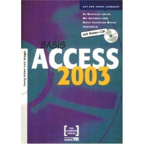 Lutz Hunger - Access 2003 Basis - Mit CD Übungs- und Lösungsdateien - Preis vom 09.06.2021 04:47:15 h