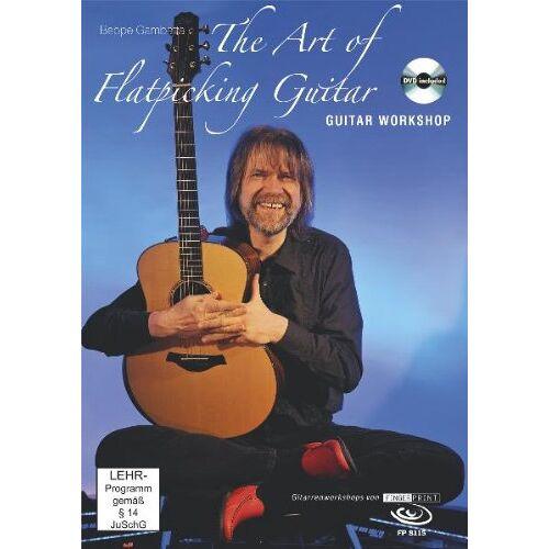 Beppe Gambetta - The Art of Flatpicking Guitar, Workshop, Buch mit DVD - Preis vom 11.06.2021 04:46:58 h