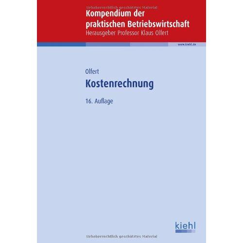 Klaus Olfert - Kostenrechnung - Preis vom 13.06.2021 04:45:58 h
