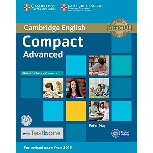 Peter May - Testbank Compact Advanced: Student's Book with answers and CD-ROM with Testbank - Preis vom 17.06.2021 04:48:08 h