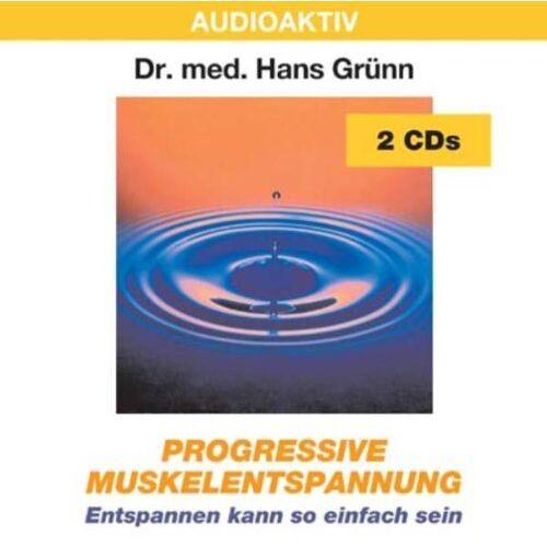Hans Grünn - Progressive Muskelentspannung. 2 CDs: Entspannen kann so einfach sein - Preis vom 15.06.2021 04:47:52 h