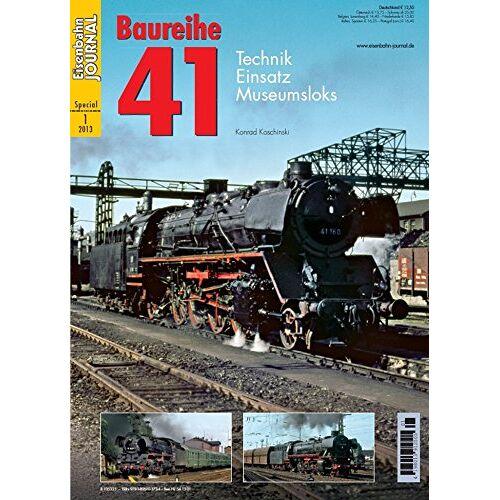 Konrad Koschinski - Baureihe 41 - Technik, Einsatz, Museumsloks - Eisenbahn Journal Special 1-2013 - Preis vom 11.10.2021 04:51:43 h