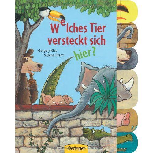 Sabine Praml - Welches Tier versteckt sich hier? - Preis vom 21.06.2021 04:48:19 h