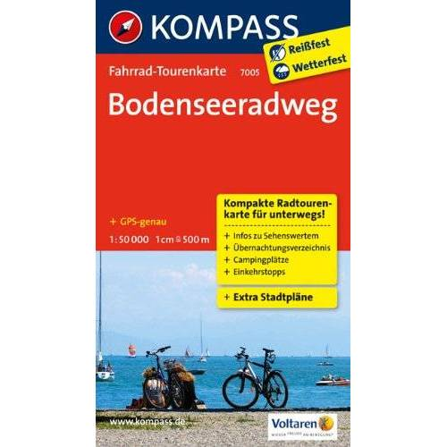 - Bodenseeradweg: Fahrrad-Tourenkarte. GPS-genau. 1:50000. - Preis vom 16.06.2021 04:47:02 h