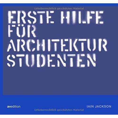 Jackson Erste hilfe für Architekturstudenten - Preis vom 12.06.2021 04:48:00 h