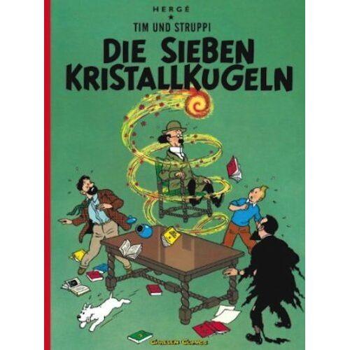 Hergé - Tim und Struppi, Carlsen Comics, Neuausgabe, Bd.12, Die sieben Kristallkugeln - Preis vom 13.06.2021 04:45:58 h