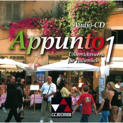 Andreas Jäger - Appunto 1. Audio-CD: Unterrichtswerk für Italienisch - Preis vom 13.06.2021 04:45:58 h
