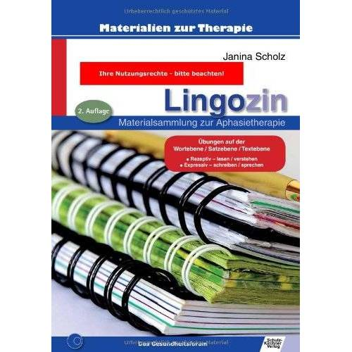 Janina Scholz - Lingozin: Materialsammlung zur Aphasietherapie - Preis vom 01.08.2021 04:46:09 h