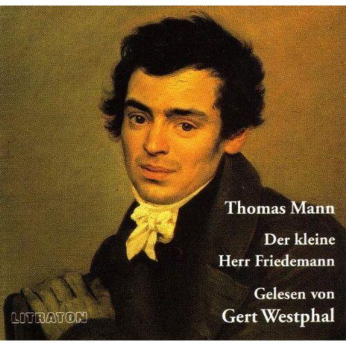 Thomas Mann - Der kleine Herr Friedemann. CD - Preis vom 13.06.2021 04:45:58 h