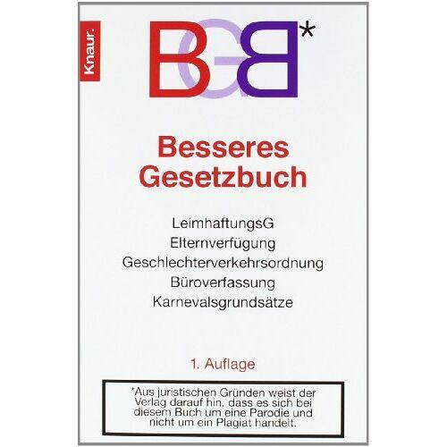 Oliver Kuhn - BGB: Besseres Gesetzbuch - Preis vom 21.06.2021 04:48:19 h