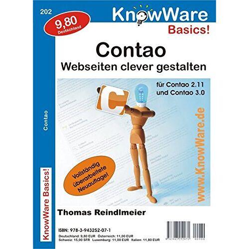 Thomas Reindlmeier - Contao! Webseiten clever gestalten - Preis vom 22.06.2021 04:48:15 h