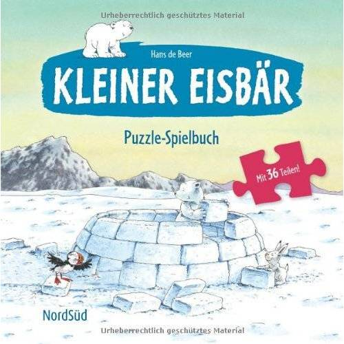 Beer, Hans de - Kleiner Eisbär Puzzle-Spielbuch - Preis vom 16.06.2021 04:47:02 h
