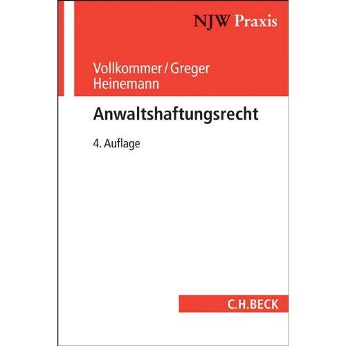 Max Vollkommer - Anwaltshaftungsrecht - Preis vom 14.06.2021 04:47:09 h