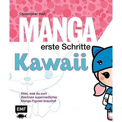Hart Manga Erste Schritte– Kawaii: Alles was du zum Zeichnen super niedlicher Manga-Figuren brauchst - Preis vom 19.06.2021 04:48:54 h