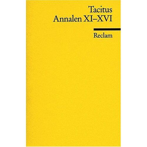 Tacitus - Annalen: Bd 11-16 - Preis vom 11.06.2021 04:46:58 h