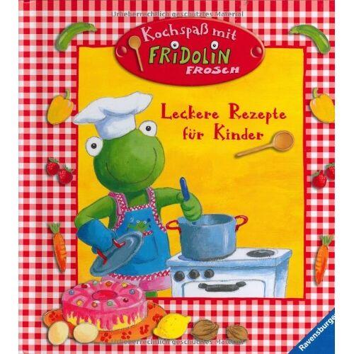 Sandra Grimm - Fridolin Frosch: Kochspaß mit Fridolin Frosch: Leckere Rezepte für Kinder - Preis vom 12.06.2021 04:48:00 h