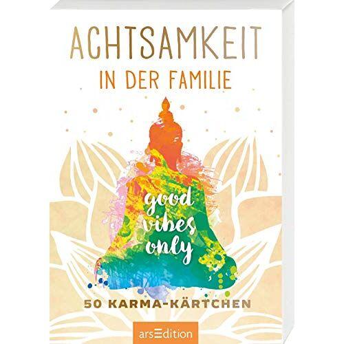 - Achtsamkeit in der Familie: 50 Karma-Kärtchen (Achtsamkeitskärtchen) - Preis vom 16.06.2021 04:47:02 h