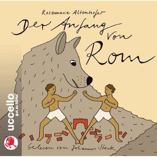 Rosemarie Altenhofer - Der Anfang von Rom: Sagen für Kinder - Preis vom 18.06.2021 04:47:54 h