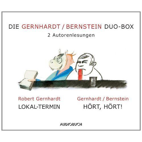 Robert Gernhardt - Die Gernhardt /Bernstein Duo-Box (Lokal-Termin, Hört, hört!) - Preis vom 17.06.2021 04:48:08 h