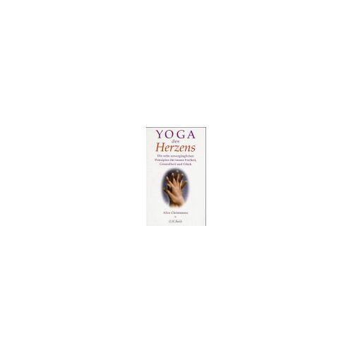 Alice Christensen - Yoga des Herzens - Preis vom 16.10.2021 04:56:05 h