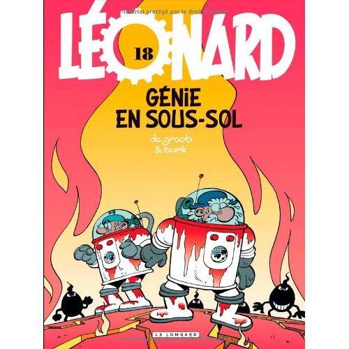 - Léonard, Tome 18 : Génie en sous-sol - Preis vom 20.06.2021 04:47:58 h