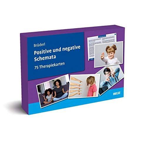 Leokadia Brüderl - Positive und negative Schemata: 75 Therapiekarten. Kartenset mit 75 Karten in stabiler Box, mit 32-seitigem Booklet. Kartenformat 16,5 x 24 cm. (Beltz Therapiekarten) - Preis vom 23.07.2021 04:48:01 h