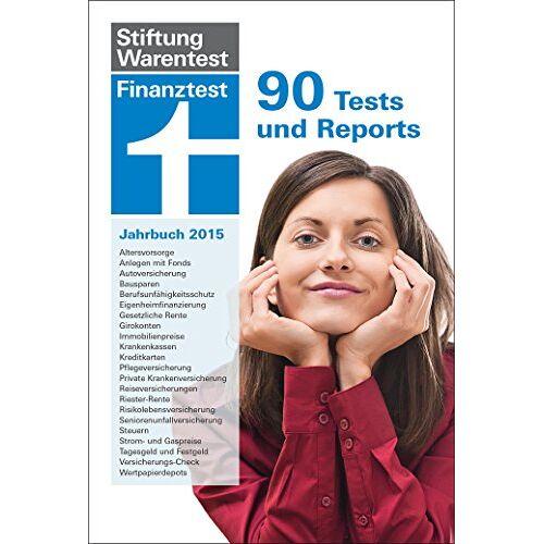 Stiftung Warentest - Finanztest Jahrbuch 2015: 90 Tests und Reports - Preis vom 16.06.2021 04:47:02 h