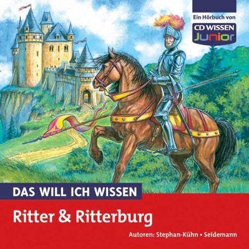 Freya Stephan-Kühn - CD WISSEN Junior - Das will ich wissen - Ritter und Ritterburg, 1 CD - Preis vom 11.10.2021 04:51:43 h