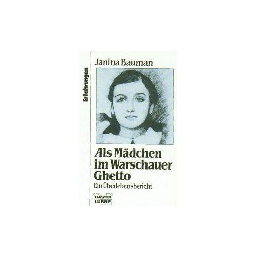 Janina Bauman - Als Mädchen im Warschauer Ghetto - Preis vom 22.06.2021 04:48:15 h