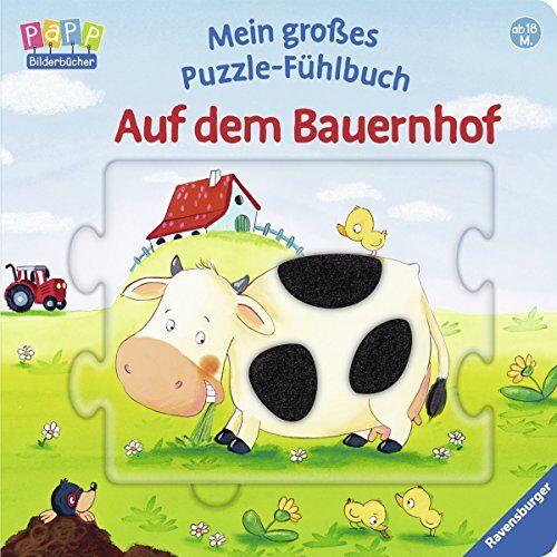 Sandra Grimm - Mein großes Puzzle-Fühlbuch: Auf dem Bauernhof - Preis vom 19.06.2021 04:48:54 h