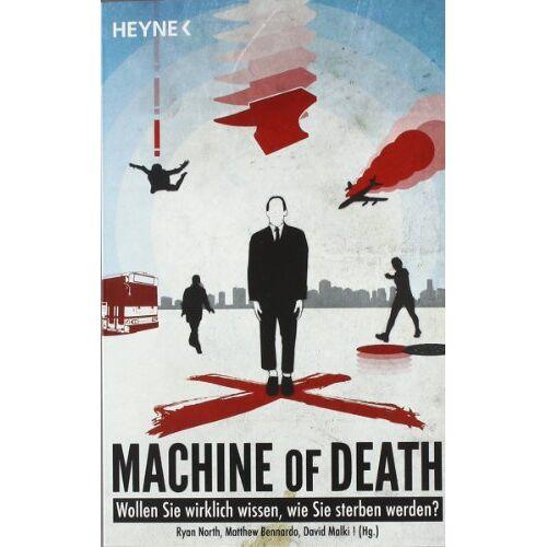 Ryan North - Machine of Death: Kurzgeschichten: 34 Kurzgeschichten - Preis vom 12.06.2021 04:48:00 h