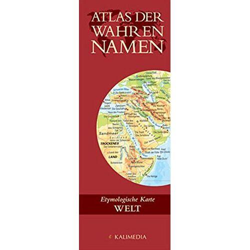 Stefan Hormes - Atlas der Wahren Namen - Welt: Etymologische Karte - Preis vom 13.06.2021 04:45:58 h