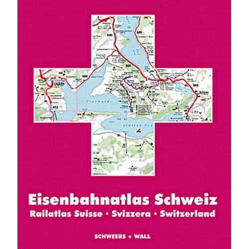 Eisenbahnatlas - Eisenbahnatlas Schweiz 2004. 1 : 150.000 - Preis vom 23.09.2021 04:56:55 h