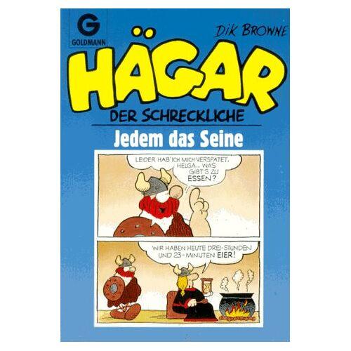 Dik Browne - Hägar der Schreckliche. Jedem das Seine. (Bd. 23). - Preis vom 14.06.2021 04:47:09 h