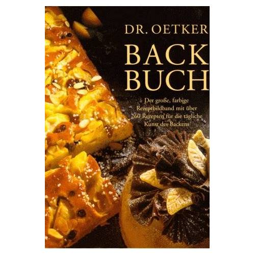 - Dr. Oetker Backbuch - Preis vom 29.07.2021 04:48:49 h