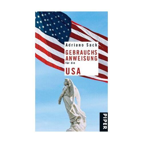 Adriano Sack - Gebrauchsanweisung für die USA - Preis vom 12.06.2021 04:48:00 h
