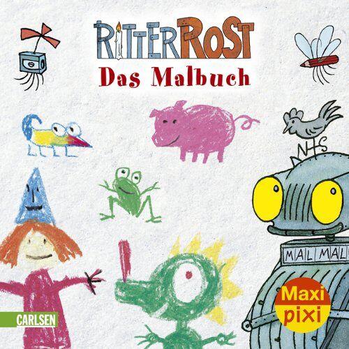 Jörg Hilbert - Maxi-Pixi Nr. 40: Ritter Rost - Das Malbuch - Preis vom 23.07.2021 04:48:01 h