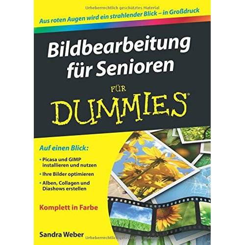 Weber Bildbearbeitung für Senioren für Dummies - Preis vom 16.06.2021 04:47:02 h