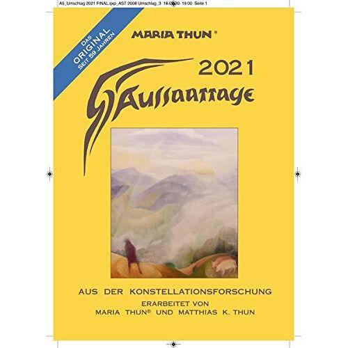 Thun, Matthias K - Aussaattage 2021 Maria Thun: Aus der Konstellationsforschung - Preis vom 23.07.2021 04:48:01 h