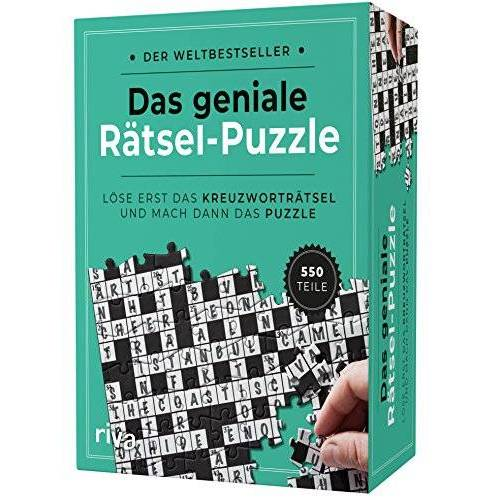 - Das geniale Rätsel-Puzzle: Löse erst das Kreuzworträtsel und mach dann das Puzzle - Preis vom 19.06.2021 04:48:54 h