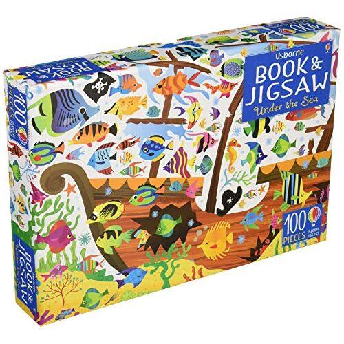 Gareth Lucas - Usborne Jigsaw Under the Sea (Usborne Book and Jigsaw) - Preis vom 19.06.2021 04:48:54 h