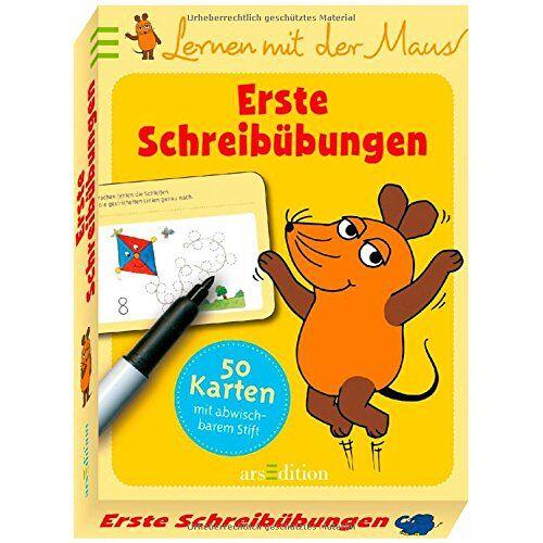 - Lernen mit der Maus - Erste Schreibübungen - Preis vom 22.06.2021 04:48:15 h