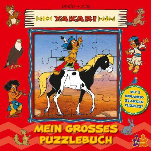 Derib - Yakari: Mein großes Puzzlebuch - Preis vom 24.07.2021 04:46:39 h