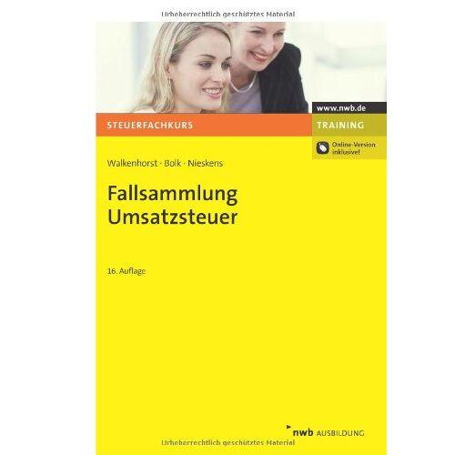 Ralf Walkenhorst - Fallsammlung Umsatzsteuer - Preis vom 22.09.2021 05:02:28 h