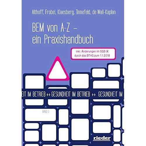 Althoff - BEM von A - Z: - ein Praxishandbuch - Preis vom 13.06.2021 04:45:58 h