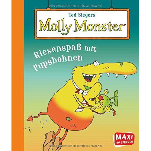 Ted Sieger - Ted Siegers Molly Monster: Riesenspaß mit Pupsbohnen - Preis vom 03.08.2021 04:50:31 h