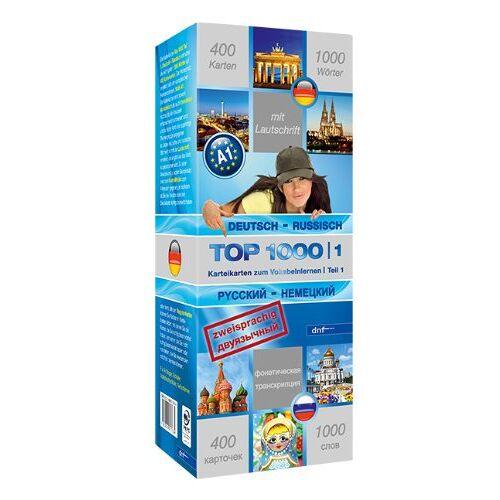 dnf-Verlag GmbH - Top 1000 Teil 1: Deutsch-Russisch /Russisch-Deutsch - Preis vom 11.10.2021 04:51:43 h
