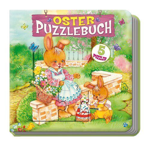 Edition Trötsch - Oster-Puzzlebuch mit 5 Puzzles - Preis vom 20.10.2021 04:52:31 h