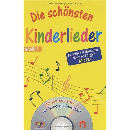 - Die schönsten Kinderlieder 1: 30 Lieder mit Liedtexten, Noten und Griffen - Preis vom 18.06.2021 04:47:54 h