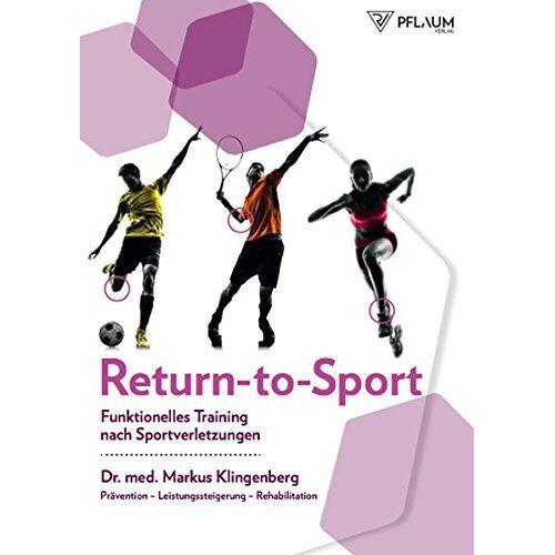 Dr. med. Markus Klingenberg - Return-to-Sport: Funktionelles Training nach Sportverletzungen - Preis vom 16.06.2021 04:47:02 h